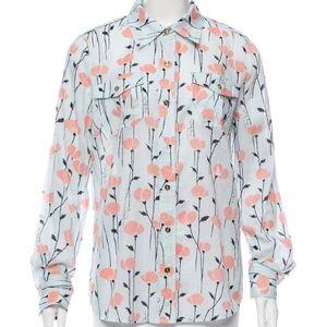 Tory Burch 'Brigitte' Button-Down Shirt